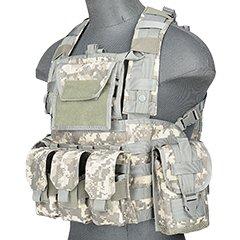 Lancer Tactical CA-781GX Modular Chest Rig Tactical Gear - ACU