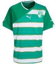 PUMA Africa Away Shirt Replica Ivory Coast, Elfenbeinküste, Größe XXL
