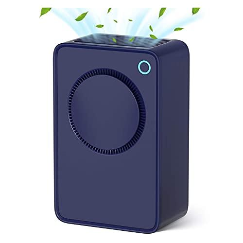 GDYJP Deshumidificador de Aire eléctrico, portátil. DIRIGIÓ Máquina de purificador de Aire de Disco, descongelamiento automático de Apagado, para temperaturas frías en hogares húmedas, sótanos