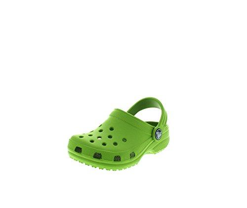 Crocs - Classic - Sabots - Mixte Enfant - Vert (Parrot Green) - 24-26