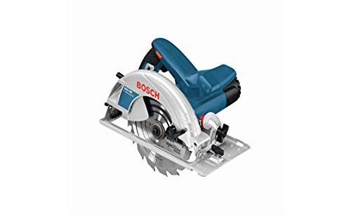 Bosch Professional 601623070 Hand Held Circular Saw GKS 190 (240 V, Saw Blade Ø 190 mm, Rated Input Power 1,400 W, incl. 1 x Circular Saw Blade, Parallel Guide, Hex Key)