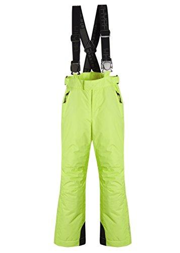 Hyra Madesimo Junior Ski Pantalon de Ski pour Enfant, Fille, HJP1369, Lime Green Girl, 6 Anni/116 cm