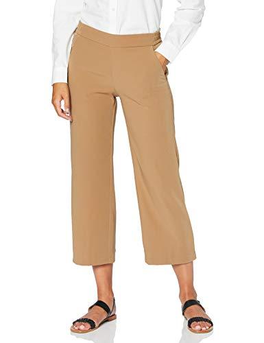 MAC Jeans Damen Chiara Cropped Bootcut Jeans, Beige (Light Cognac 259), W46 (Herstellergröße: 46/23)