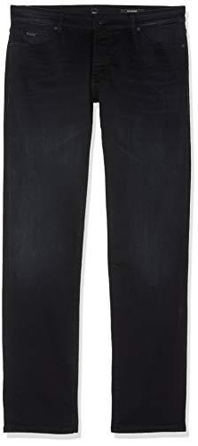 BOSS Herren Maine Bc-L-C Straight Jeans, Blau (Dark Blue 401), W32/L32 (Herstellergröße: 3232)