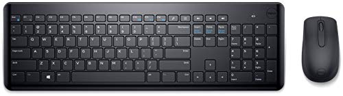 Dell KM117 Wireless Keyboard and Mouse Black Model MGPWT