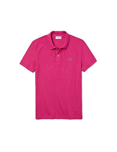 Lacoste PH401200 T-Shirt Polo, Rose (Gala Z04), XS Uomo