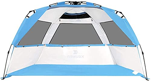 SHWYSHOP Carpas para Acampar Carpa Protección UV 2-3 Personas Protección Solar Cobertizo Protección UV Familiar Toldo Ultraligero Cabana Campi