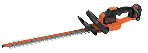 BLACK + DECKER BDHT185ST1-QW Accu-heggenschaar, 18 mm, 1 accu, multidirectionele handgreep, 18 V, 50 cm