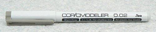 コピックモデラー 0.02 ウォームグレー