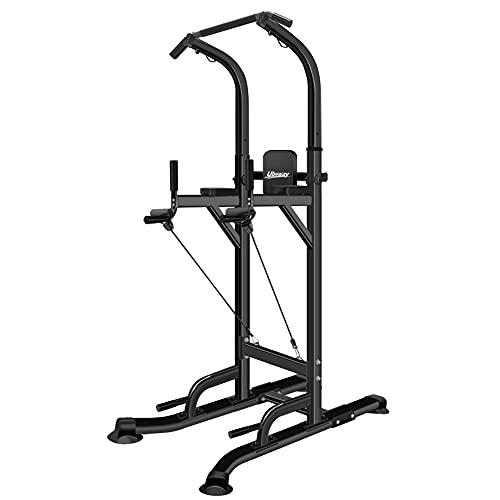 UBOWAY T055K - Torre de entrenamiento para gimnasio en casa, ajustable, multifunción, para entrenamiento de fuerza, estación de entrenamiento