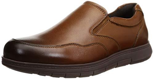 [ダンロップ] ローファー メンズカジュアルシューズ ビジネスシューズ 革靴 DR6254 BR 26.0 cm 4E