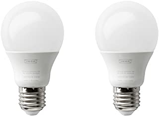comprar comparacion IKEA RYET bombilla LED E27600lúmenes, globo ópalo blanco