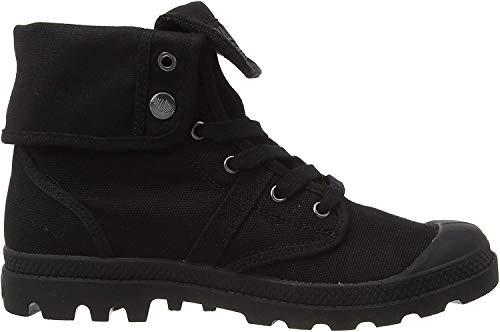 Palladium Herren Pallabrouse Baggy. Hohe Sneaker, Schwarz (Black/Black 466), 46 EU