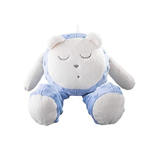 myhummy Ayuda para dormir Baby Basic Snoozy blanco y azul   White Noise Baby ayuda para dormir a los niños a partir de 0 meses   My hummy – Ayuda para dormir Basic Cloud Oveja