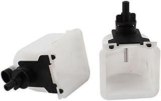eDealMax 2pcs Conejo automática Waterer bebedero de tetina de agua vibratorio