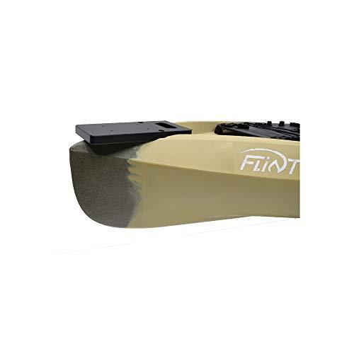 Nu Canoe Flint Bow Motor Mount Kit Black