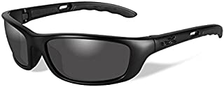 Wiley X P-17 Sunglasses, Smoke Grey, Matte Black