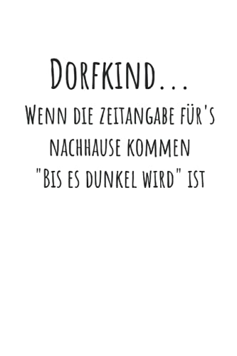 Dorfkinder: Lined Grid Journal or Notebook (6x9 Inches) with 120 pages