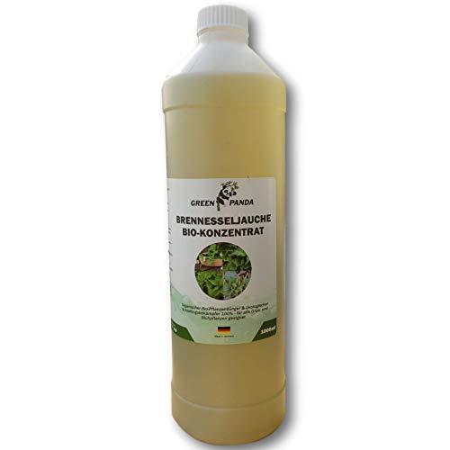 GreenPanda Brennesseljauche-Bio - Biodünger flüssig universal - 1Liter Garten-Pflanzendünger - 100% Bio