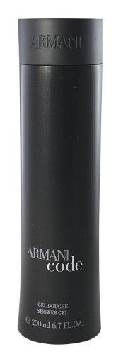 Armani Code homme/ men, Duschgel, 200 ml, 1er Pack, (1x 200 ml)
