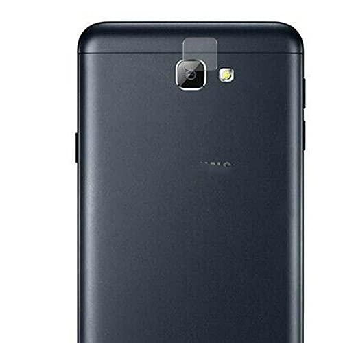 Vaxson 2 Unidades Protector de Lente de Cámara, compatible con Samsung Galaxy On5 2016 G5700 J5 Prime [No Vidrio Templado/Funda Case ] TPU Película Protectora