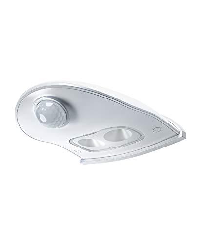 LEDVANCE LED Batteriebetriebene Leuchte, Leuchte für Außenanwendungen, Bewegungssensor, Tag-Nacht-Sensor, Kaltweiß, 102,5 mm x 92,4 mm x 36,5 mm, Door LED Down
