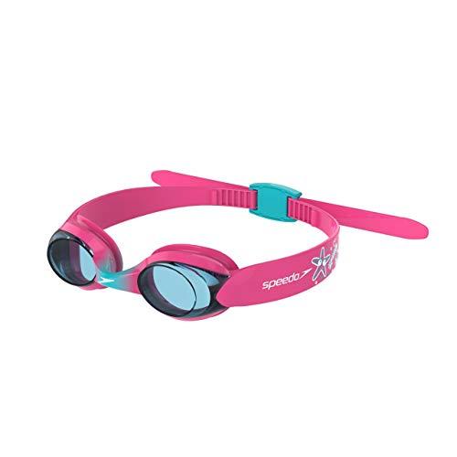 Speedo Gafas Illusion Disney natación, Infant Unisex, Rosado/Azul, Talla única