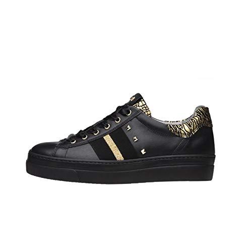 NeroGiardini A909161D Sneakers Donna in Pelle - Nero 36 EU
