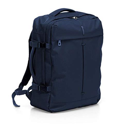 RONCATO Ironik mochila de viaje azul  medida: 40 x 55 20 cm  compartimentos interiores