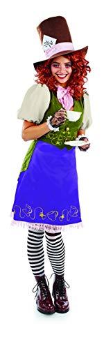 Fun Shack Lila Kinderbuch Hutmacher Kostüm für Damen - M