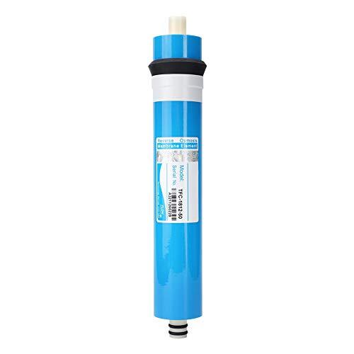 Natruss Korrosionsbeständig RO Wassersystem Filter Filter Alterungsbeständig 50/75/100 GPD Wasseraufbereiter Filter Office for Home(1812-50G)