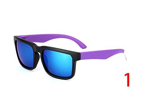 Brillen,Sonnenbrillen,Zubehör,New KEN BLOCK Sunglasses Men Brand Designer Sun Glasses Reflective Coating Square Spied For Women Rectangle Eyewear Gafas De Sol 1