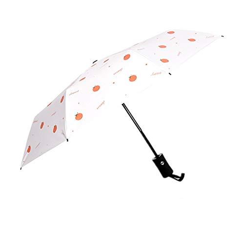pzcvo Windproof Umbrella Travel Umbrella Kids Umbrella Umbrellas For Women Sun Umbrella Portable Parasol Umbrella Windproof Windproof Umbrella Compact White,One Size