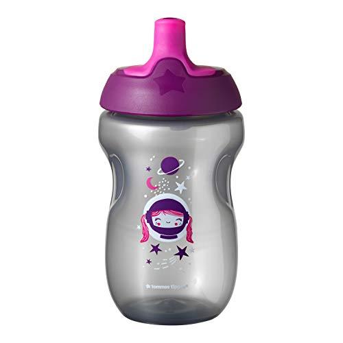 Tommee Tippee Active Sportflasche, 12 Monate, leicht zu reinigendes Ventil
