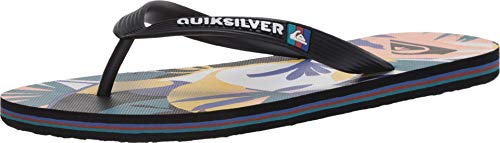 Quiksilver Molokai Print Tropical Flow Black/White/Blue