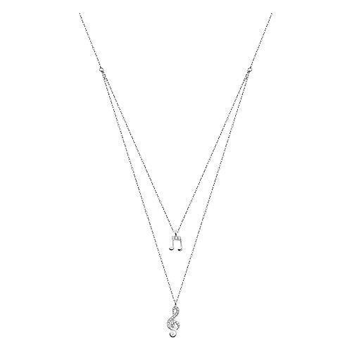 LOTUS Silver Collar con colgante de clave de sol LP1680-1/2 circonitas 925 plata JLP1680-1-2