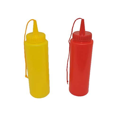 Ketchup & Mustard Fake Novelty Squirt Bottles