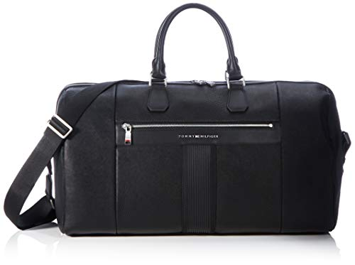 Tommy Hilfiger TH Downtown Duffle, Borse Uomo, Nero, One Size