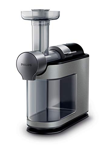 Philips HR1897/34 Micro Masticating Juicer, Avance Collection, Silver