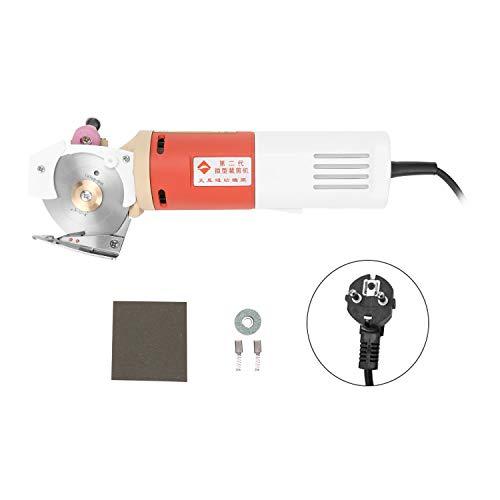 KKmoon tragbare Elektrischer Stoffschneider (65mm Rotary Blade) Handheld Stoff Rundschneidemaschine