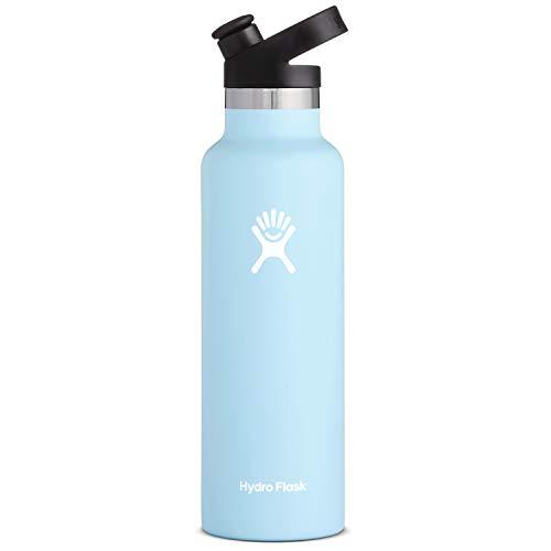 Hydro Flask 21 oz Water Bottle, Sport Cap - Frost