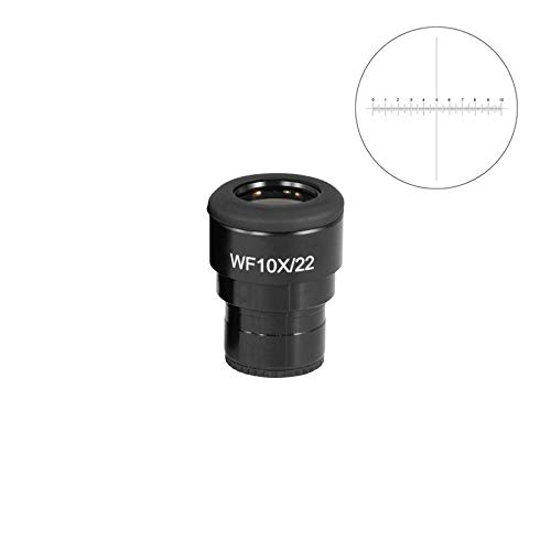 BoliOptics WF 15X Widefield Microscope Focusable Eyepiece with Reticle, Crosshair Scale, High Eyepoint, Mounting Size 30mm, FOV 16mm, Ajustable Diopter (One) SZ04023441