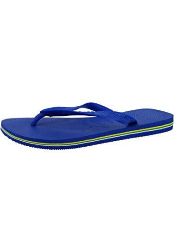 Havaianas Unisex-Erwachsene Brasil Zehentrenner, Blau (Marine Blue), 43/44 EU
