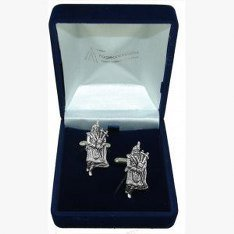 Inscription Scottish, cadeau Boutons de manchette Best Man/Usher, livrés dans un sachet en Organza