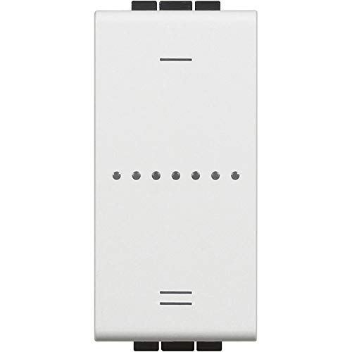Bticino N4411C Livinglight - Interruptor regulador de intensidad, blanco