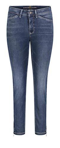 MAC JEANS Damen DREAM CHIC Jeans, Blau (Dark Used D853), W44/L27