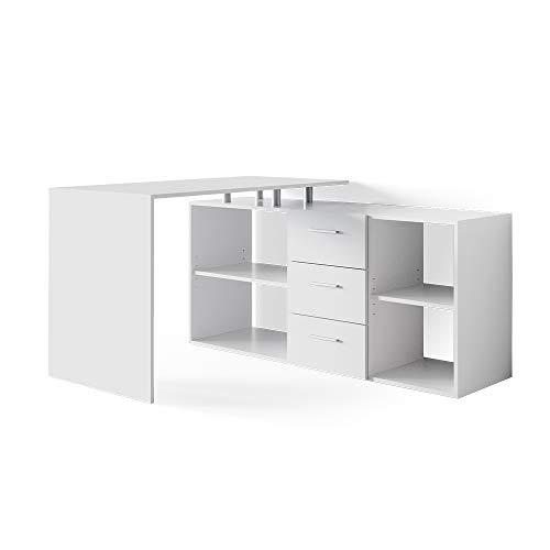 Vicco Eckschreibtisch Schreibtisch Bürotisch Dante Winkelschreibtisch PC-Tisch