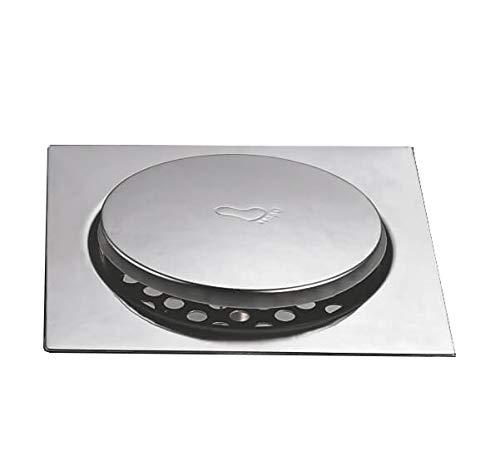 Aquieen Stainless Steel 6'x6' Anti Foul Floor Pop Up Grating (Bathroom Floor Drainer/Jali)