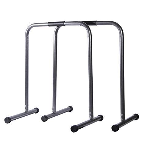 ディップススタンド 高さ調節可能 ディップススタンド 懸垂運動 斜め懸垂 筋力 自宅 人気 筋トレ 全身トレーニング可能 ネス 二つの色は選択できます (黒)