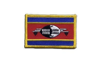 Aufnäher Patch Flagge Swasiland - 8 x 6 cm